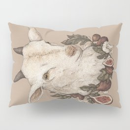 Goat and Figs Pillow Sham