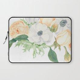 David Austin Roses and Anemones Laptop Sleeve