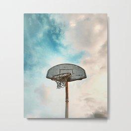 basketball hoop 8 Metal Print