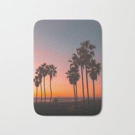 Venice Beach Vibrant Views at Sunset Bath Mat