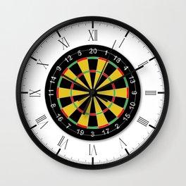 Dartsboard Wall Clock