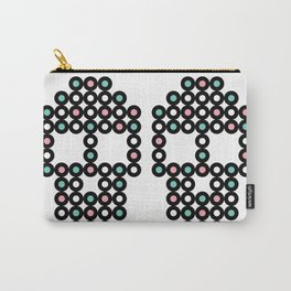 Retro Skull #2 Carry-All Pouch