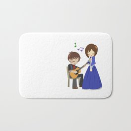Bioshock Infinite - Booker and Elizabeth Bath Mat