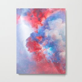 Stay with me between the Clouds and your Dreams Metal Print