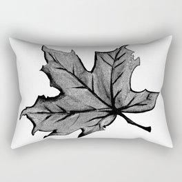 Night Autumn Leaf Rectangular Pillow