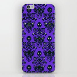 Wall To Wall Creeps iPhone Skin