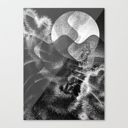 Bad Moon Canvas Print