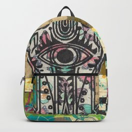Butterflies Within Backpack