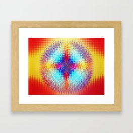 Colorful Aspiration Framed Art Print