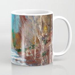 Melting Snow in McKinnon Ravine / Dennis Weber / ShreddyStudio Coffee Mug