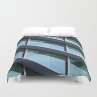 architecture Duvet Covers featuring Architecture by Alex Dodds