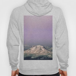 Above the Clouds - Mt. Adams Nature Photography Hoody