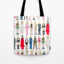 Outfits of Madge Fashion Tote Bag