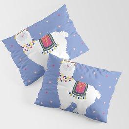 Festive Alpaca Pillow Sham