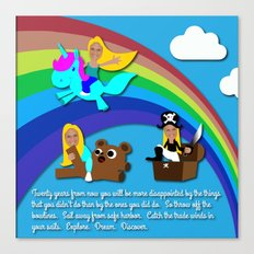 Kelsey Sharkey Congrats Canvas Print