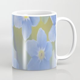 Forget-me-not flowers - summer beauty #society6 #buyart Coffee Mug