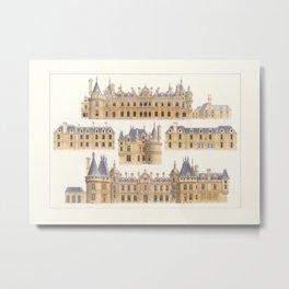 Waddeston Manor Metal Print