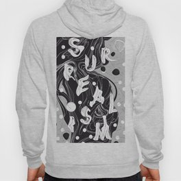 History of Art in Black and White. Surrealism Hoody