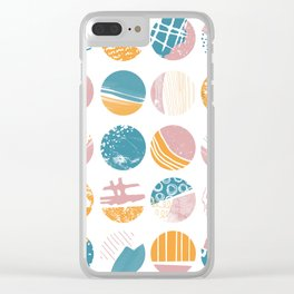 This and That | Patterns and Texture Clear iPhone Case