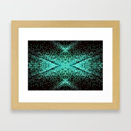 The Peacock Butterfly Framed Art Print