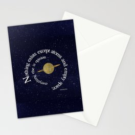 Nothing Exists Stationery Cards