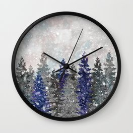 Waiting for Christmas Wall Clock
