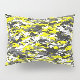Whippet camouflage Pillow Sham