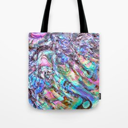 Shimmery Rainbow Abalone Mother of Pearl Tote Bag