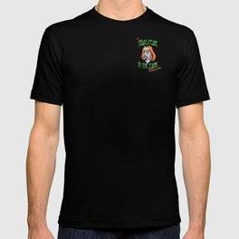"""Free Shakespeare in the Park Milwaukee """"patch"""" design T-shirt"""