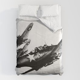 Vintage fighters Comforters