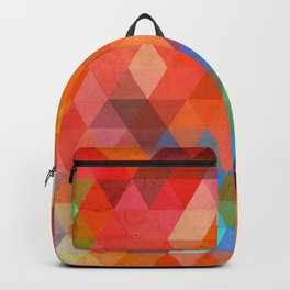 Color Triangles Backpack