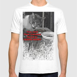 You Need to Leave Now (All Over Print) | Monster Kat Gear T-shirt
