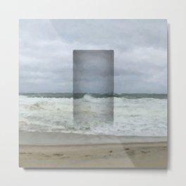 The Seaward Door (Square) Metal Print