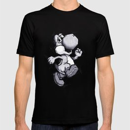 Yoshi Handmade Drawing, Games Art, Super Mario, Nintendo Art T-shirt