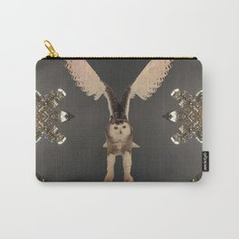The Snowy Owl's Civic Duty Carry-All Pouch
