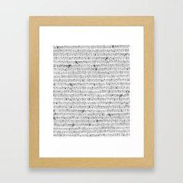 Somos muchos Framed Art Print
