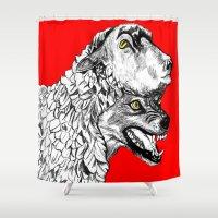 predator Shower Curtains featuring Predator by Wellington Sun