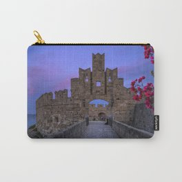 The fortress wall  Rhodes, Greece Carry-All Pouch