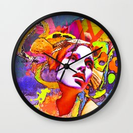 belladonna 2 Wall Clock