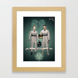Formula 1 World Driver's Championship 2014 Framed Art Print