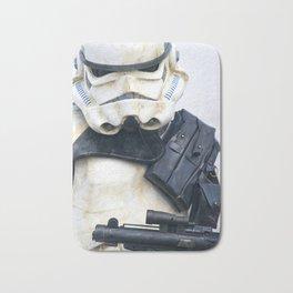 Stormtrooper Portrait Bath Mat