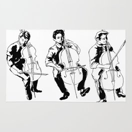 Cello player Rug