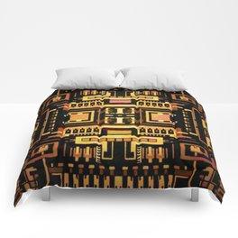 Circuit board v5 Comforters