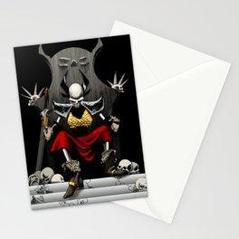 Skeletal Noble Stationery Cards