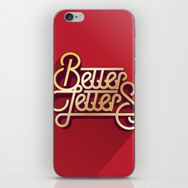 Better Letters iPhone Skin