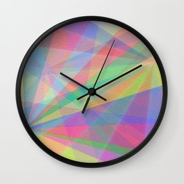 Twirls Wall Clock