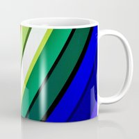 manchester Mugs featuring mANCHESTER pRIDE 323 by ANGELA SEAGER - Photo-based Artist