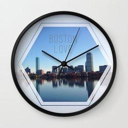 Boston Love Wall Clock