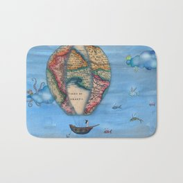 Pirate Balloon 2 Bath Mat