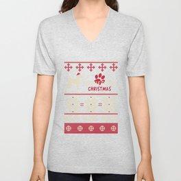 Airedale Terrier christmas gift t-shirt for dog lovers Unisex V-Neck